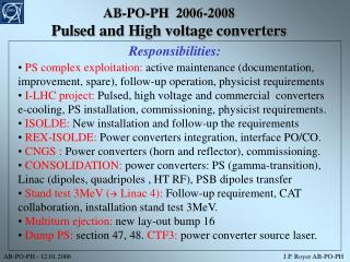 AB-PO-PH  2006-2008 Pulsed and High voltage converters