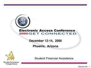 December 12-14,  2000 Phoenix,  Arizona