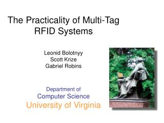 The Practicality of Multi-Tag  RFID Systems