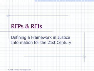 RFPs & RFIs