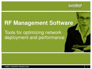 RF Management Software