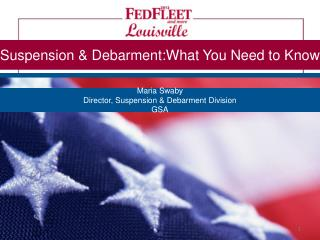 Suspension & Debarment:What You Need to Know