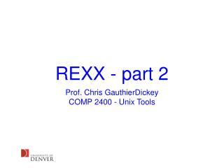REXX - part 2