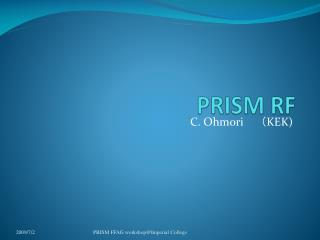 PRISM RF
