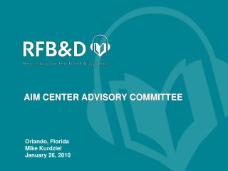 AIM CENTER ADVISORY COMMITTEE