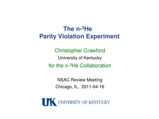 The n- 3 He   Parity Violation Experiment