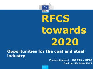 RFCS towards 	2020