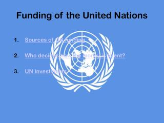 Funding of the United Nations