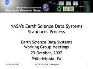 NASA's Earth Science Data Systems Standards Process