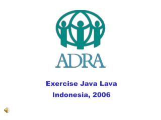 Exercise Java Lava Indonesia, 2006