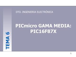 DTO. INGENIERIA ELECTRÓNICA