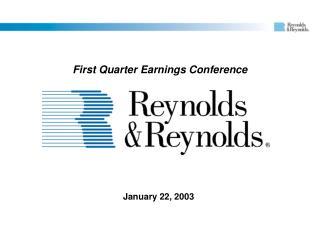January 22, 2003