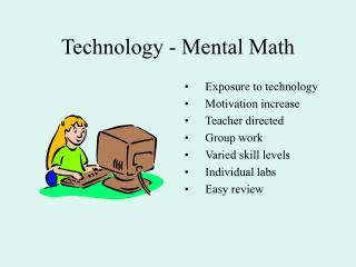 Technology - Mental Math