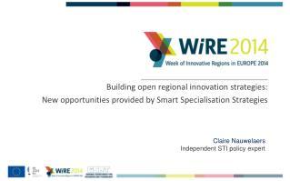 Building open regional innovation strategies: