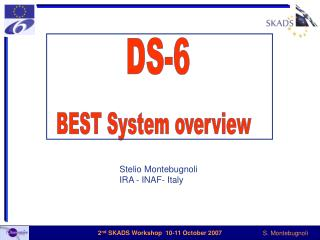 DS-6 BEST System  overview