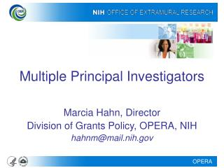 Multiple Principal Investigators