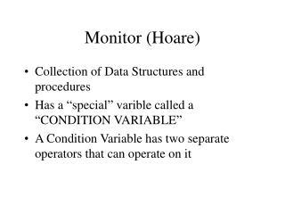 Monitor (Hoare)