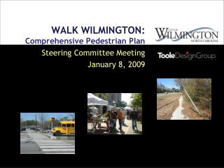 WALK WILMINGTON :  Comprehensive Pedestrian Plan