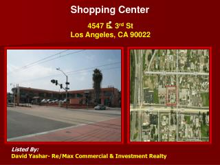 Shopping Center :