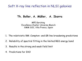 Soft X-ray line reflection in NLS1 galaxies