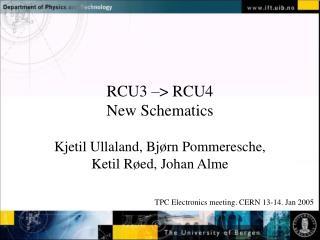 RCU3   RCU4 New Schematics