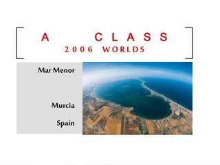 Mar Menor Murcia Spain