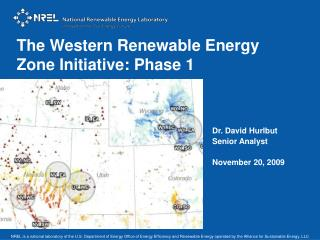 The Western Renewable Energy Zone Initiative: Phase 1