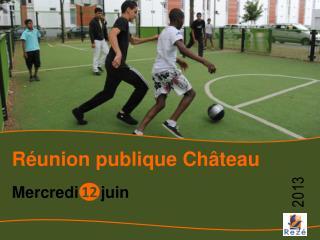 Réunion publique Château
