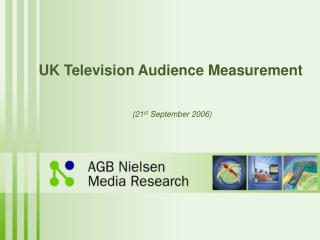 UK Television Audience Measurement