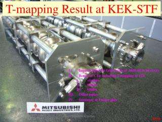 T-mapping Result at KEK-STF
