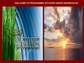 WELCOME TO PROGRAMME OFFICERS UNDER MGNREGS-AP