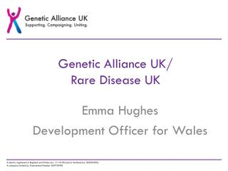 Genetic Alliance UK/  Rare Disease UK