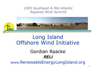 2005 Southeast & Mid-Atlantic Regional Wind Summit