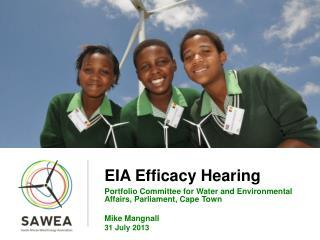 EIA Efficacy Hearing