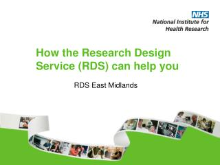 How the Research Design Service (RDS) can help you