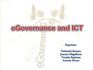 eGovernance  and ICT