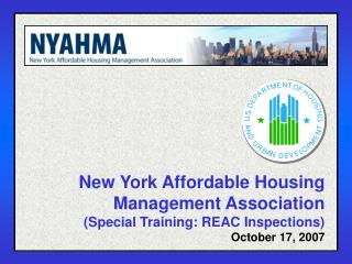 New York Affordable Housing Management Association (Special Training: REAC Inspections)