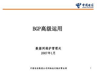 BGP 高级运用