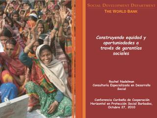 Construyendo equidad y oportuniodades a través de garantías sociales