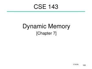 CSE 143