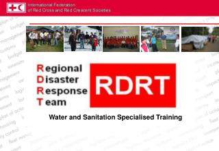 Water and Sanitation Specialised Training