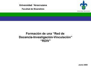 Universidad  Veracruzana Facultad de Bioan�lisis
