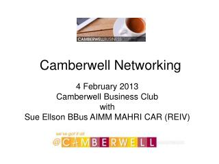 Camberwell Networking