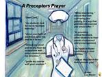 A Preceptors Prayer