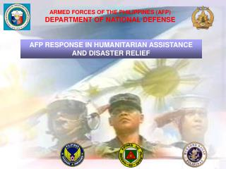 ARMED FORCES OF THE PHILIPPINES (AFP) DEPARTMENT OF NATIONAL DEFENSE