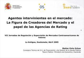 VII Jornadas de Regulación y Supervisión de Mercados Centroamericanos de Valores