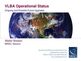VLBA Operational Status