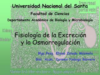 Universidad Nacional del Santa Facultad de Ciencias