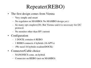 Repeater(REBO)