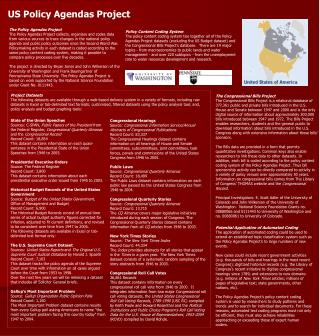 US Policy Agendas Project